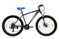 Frog Viper X-101 27.5 Inches 21 Speed Bike for Adults (Black,Blue)