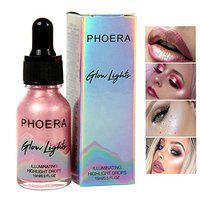 Miss Rose Women Beauty Liquid Highlighter Make Up Highlighter Cream Concealer Shimmer Face Glow