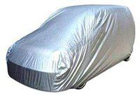 AUTOXYGEN Car Silver Dust Proof Water Resistant Body Cover For Toyota Fortuner