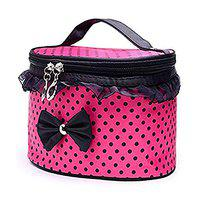 TIED RIBBONS Makeup Bag Travel Cosmetic Organizer for Girls and Women (20 cm X 13 cm)