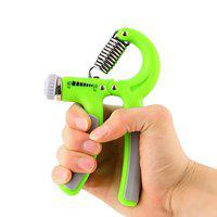 DreamPalace India Hand Gripper - Exerciser Strengthener Hand Exerciser Resistance 10Kg to 40Kg for Gym,Strong Wrist-Green
