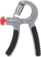 DreamPalace India Hand Gripper - Exerciser Strengthener Hand Exerciser Resistance 10Kg to 40Kg for Gym,Strong Wrist-Grey