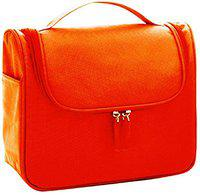 CONNECTWIDE Fabric Toiletry Bag (Orange_CW-787)