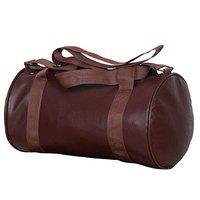 JMO27Deals Leather Brown Sports and Duffel Gym Bag