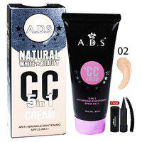 ADS Natural White Skin Beauty 5in1 CC Cream-A1678-02 with Adbeni Kajal