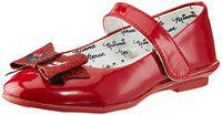 Minnie Girl's Red Indian Shoes-10 Kids UK/India (28 EU) (MMPGLS1746)
