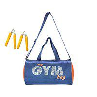 Credence My Fitness Gym Duffel Bag with 2 Wooden Hand Grip