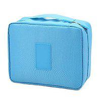 Styleys Nylon & Polyester Toiletry Bag (Sky Blue_S111)