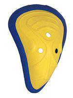HeadTurners Poly Plastic Cox Men Abdominal Guard Full Size-Color May Vary - Yellow, Youth
