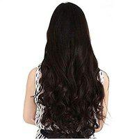 BLACKBOND women's Natural Curly Hair Extensions (BB-85/HT3 Brown)