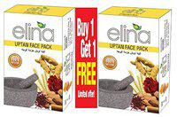 elina Herbals Uptan Face Pack 100% Natural Organic 100gm(Buy One Get One Free)