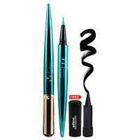 TFF The Fashion Factory Red Eyeliner with Adbeni Kajal (Green, 3.5 g)