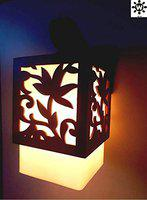 Whiteray Wooden Leaf Designed Wall Light (Wall - Pack of 1)