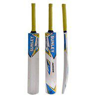 Sunley Sarthak Wooden Popular Willow Cricket Bat (Multicolor, Size 2 for Age Group 6-7 Years Juniors)