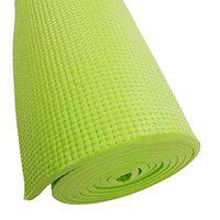 Narains Packaging Yoga Mat with Carrying Strap, Green_4mm
