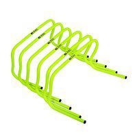 SAS SPORTS 6 Agility Sports Training Hurdle for Training, Jumping Drills, Soccer, Football, Gym, Fitness (with Carry Strap)