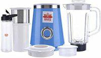 BMS LIFESTYLE Blender, Smoothies Blender with Tritan BPA Free Sport Bottle and 1 Travel Lids for Morning Smoothie or A Post-Workout Protein Shake, (Blue)
