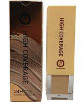 Colors Queen High Coverage Foundation 24 Hours Lasting Moisturizer Concealer Brightening Skin For All Skin Type Smudgeproof