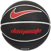 NIKE Dominate 8P Basket Ball ( Color : Black/White/Red, Size : 7 )