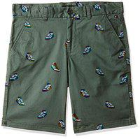 Tommy Hilfiger Cotton Boys Shorts (P9ACN14016_Thyme_16)