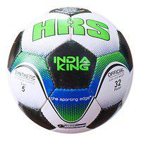 HRS India King Synthetic Rubber Football Size - 5