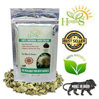 Herbins herbal henna for hair, natural hair color for hair growth - Copper Brown-Pack of 1