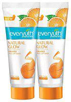 Everyuth Naturals Natural Glow Orange Peel-off Mask, Pack of 2 (90gm x 2), Tube