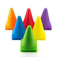 Skera Training & Playing Field Equipment 6 Inch Cone Marker Pack of 4