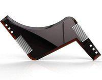 Osking Premium Beard Shaping and Styling Tool with Inbuilt Comb for Perfect Line Up and Edging(Black)