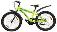 Hero Sprint Thorn 24T Mountain Bicycle with Rigid Fork (9 to 16 Year) (Green)