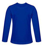 Haoser Boys and Girls Solid Full Sleeves t Shirts,Round Neck,Full Sleeves T-Shirts for Kids with Complete Skin Care of Your littile Boys and Girls