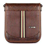 The Clownfish Enticer Series Synthetic 22 cms Hickory Messenger Bag