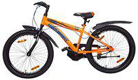 Hero Sprint Thorn 24T Mountain Bicycle with Rigid Fork (9 to 16 Year) (Orange)