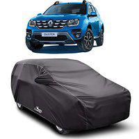 XGuard Car Body Cover Special Design for Renault Duster (Gray with Mirror Pocket)