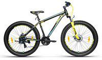 Frog Vantage X 3.0 27.5 Inches 21 Speed Bike for Adults (Black;Yellow)