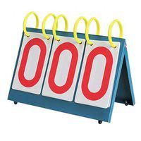 IRIS Portable Table Top 3-Digit Scoreboard | Easy-Flip Indoor/Outdoor Scorekeeper | Professional/Recreational Coach and Referee Gear for Any Sport: Basketball, Football, Baseball, and More