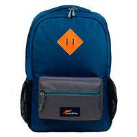 Protecta Alpha 30 Ltrs School Bag Navy Blue and Grey