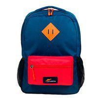Protecta Alpha 30 Ltrs School Bag Navy Blue and Red