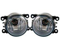 Auto Spare World Fog Lamp Assembly for Chevrolet Sail 2012-2017 (Set of 2 Pcs.)