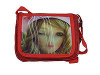 Leysin Kids Sling Bags for Picnic Girls Sling Bag for School Use Best Kids Birthday Gift Item Red Color Pack of 1