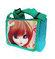 Leysin Beautiful Girls Kids Sling Bags for School, Travel and Picnic Use Best Return Gift Item Pack of 1 (m4)