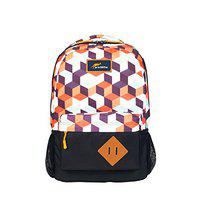 Protecta Polyester 30 L 3 Dot One 4 Building Blocks Print School Bag