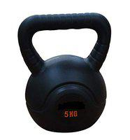 CW FIRE Fly Unisex Kettle Bell 6 kg PVC for Home and Gym Use Full Body Workout Exercise Weight