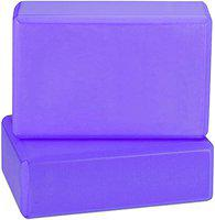 serveuttam Yoga Block High Density EVA Foam Block to Support and Deepen Poses, Improve Strength and Aid Balance and Flexibility Lightweight, Odour Resistant and Moisture-Proof, 2 Pieces