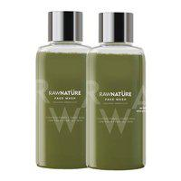 Rawnature Volcanic Green Clay Face Wash, 60 Gm (Pack Of 2)