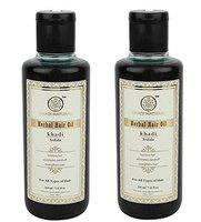 Khadi Natural Triphala Herbal Hair Oil, 210ml (Pack of 2)