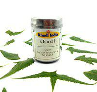 Khadi India Neem Herbal Face Pack 50 gm (Pack of 1)