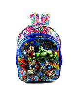 Priceless Deals 5D Embossed Avenger Cartoon Printed School Bags for Kids up to 2nd Class (16 inches)