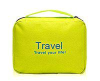 TradeVast Toiletry Bag Travel Organizer Cosmetic Bags Makeup Bag Toiletry Kit Travel Bag Travel Toiletry Bag Unisex Green