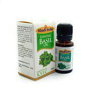 Khadi India Basil Essential Oil 10 ml (Pack of 1)
